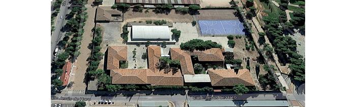 Vista aérea IES Miguel de Cervantes Saavedra
